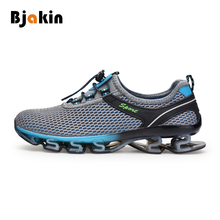 Bjakin Men Sneakers Running Shoes Cushioning Sport Shoes Breathable Mesh Walking Jogging Men's Professional Male Athletic Shoes
