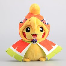 Anime Dolls Pikachu Cosplay Ho-oh Plush Toys Kawaii Cute Soft Stuffed Chilrdren Birthday Gift 9 inch 22 CM - Anna & David's Store store
