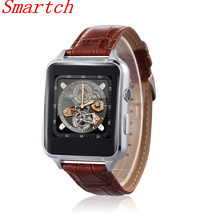 Smartch X7 Fashion Smart Watch IPS Touch Screen Suporrt SIM & TF Card 0.3MP Camera FM Radio Audio Video Player Pedometer Alarm T(China)