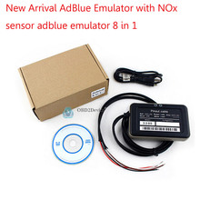 2016 price down Cheap 8 in 1 Truck Adblue Emulator with Nox Sensor free shipping packed in new perfect box(China)