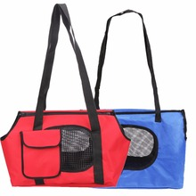 Pet Bag Spring Summer Breathable Bicycle Pet Carriers Small Dogs Pet Bag Dog Cats Carrying Bag Outdoor Portable Bed Blue, Red(China)