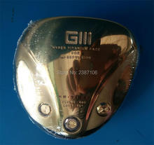 Playwell Titanium GIII gold HR-712S golf driver head 2016 wood iron putter wedge(China)