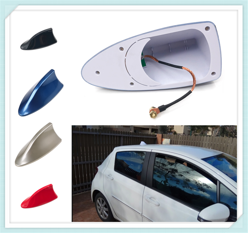 High quality car styling shark fin radio signal roof antenna auto parts for Nissan NISS LIVINA MARCH X-TRAIL TIIDA