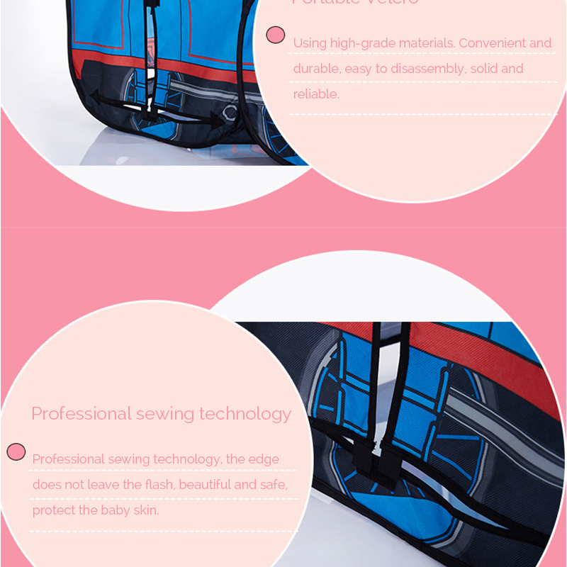 HTB1J7B4RFXXXXahaXXXq6xXFXXXZ - The Train Play Vehicle Toy Tent For Children Pop Up Playhouse Kids Game House Child Baby Portable and inflatable Tents