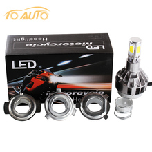 H4 Motorcycle LED Headlight Bulbs BA20D Scooter flasher fog lights for Suzuki ktm exc cafe racer harley motorcycle accessories