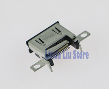 1pc Original used HDMI Port Socket Interface Connector HDMI socket for WII U Console