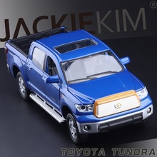 Brand New 1:32 TOYOTA Tundra Pickup Trucks Alloy Car Model Toys High Simulation Exquisite Model Toys Car For Baby Best Gifts(China)