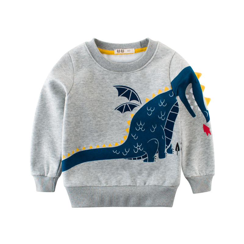 Toddler Baby Girls Boys Elephant Long Sleeve Tops Sweater Shirt,Winter Thick T-Shirt Warm Sweatshirt Clothes Gift
