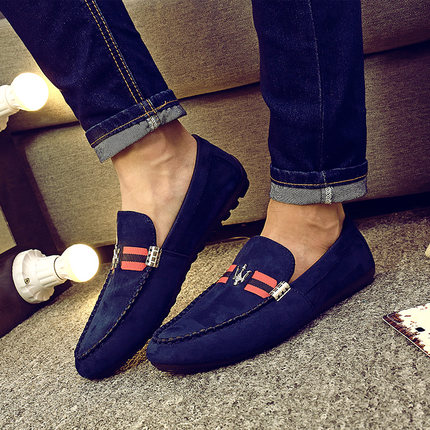 2017 Fashion Genuine Leather Loafers Mocassin  Shoes Casual Slip On Flats Driving Shoes<br><br>Aliexpress
