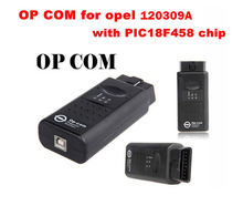 The Best Sellers op com with PIC18F458 chip auto scanner,V1.45 OBD2 Op-com / Opcom /for Opel Scan Tool Free Ship+ long Warranty(China)