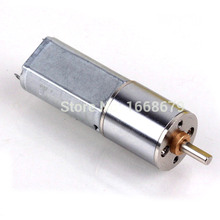 EBOWAN Electric 16MM high torque 120RPM mini 12v dc gear motor for Model toy car robot motor