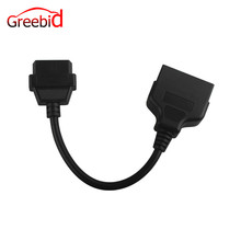 For Toyota 22pin to 16pin OBD1 to OBD2 Connect Cable(Hong Kong)