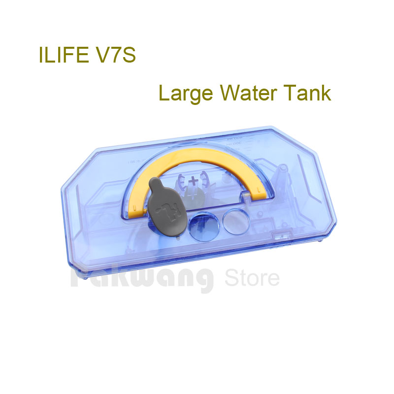 Original ILIFE V7S Large Water tank 450ml 1 pc, Robot Vacuum Cleaner Spare parts from the factory<br>