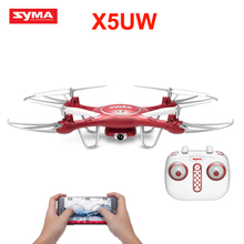 Syma X5UW Newest Drone with WiFi Camera HD 720P Real-time Transmission FPV Quadcopter 2.4G 4CH RC Helicopter Dron Quadrocopter(China)