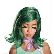 KTLPARTY Children cosplay wig girls Inside Out Joy Disgust Sadness wig kids party wig free shipping(China)