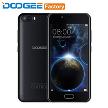 Doogee Shoot 2 2GB RAM 16GB ROM 5.0 inch HD Screen Smartphone MT6580A Quad Core Cell Phone Dual Camera Android 7.0 Mobile phone(China)