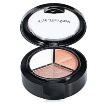 2016 New Hot Sale Cosmetic Makeup Neutral 3 Warm Color Beauty Eye Shadow With Mirror Brush Easy To Carry