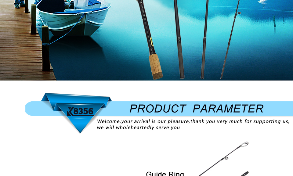 K8356 1.8-3.0m Ultra Light Portable M Power 4 Section Carbon Fiber BaitcastingSpinning Fishing Rod 10-25g 12-25Ib Travel Rod_2