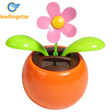 LeadingStar Solar Dancing Flower Assorted Colors Great as Gift or Decoration Toy For Children zk15(China)