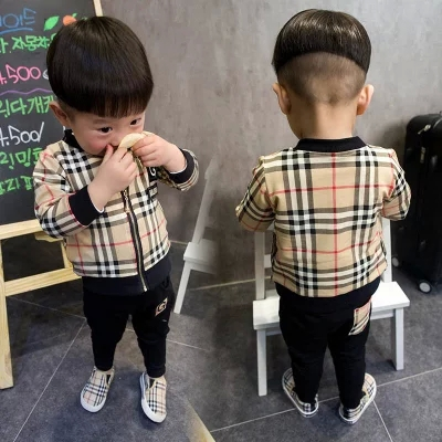 2016 baby boy gentlemen clothing set 2pcs boys clothing kids jeans suit set children clothing boys vestidos baby boy clothes<br><br>Aliexpress