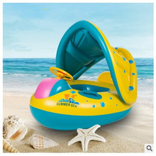 Hot Sell Portable inflatable baby swimming Boat plastic pool infant babies children's swimming pool outdoor float piscina