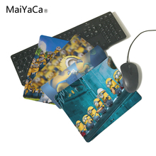 MaiYaCa Unique Design Despicable me 2 minions paradise Best Game Custom Mousepads Rubber Pad Not Overlock Mouse Pad(China)