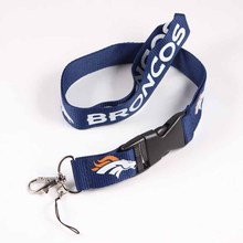 Denver Broncos Lanyard KeyringNeck Strap For ID Pass Card Badge Mobile Phone USB Holder American Football DIY Hang Rope Necklace(China)