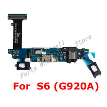 For Sam Galaxy S6 G920A G920P G920R4 G920T G920V Dock Connector Charger Charging Port USB Flex Cable Sam S6 Replacement Part(China)