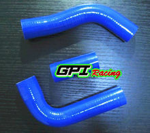 Silicone radiator hose for Toyota Hilux LN106 LN111 LN107 LN130 LN106/111/107/130 blue(China)