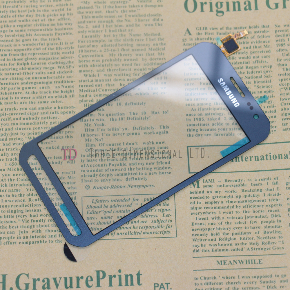 For Samsung Galaxy Xcover 3 G388F G388 Touch Screen Digitizer Glass Parts Replace Panel Blue<br><br>Aliexpress