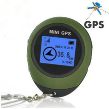 Newst!update Handheld Location Finder Mini GPS Receiver Navigation USB Rechargeable with Compass for Outdoor Sport Travel 36891