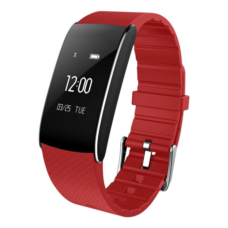 Smart Bands Heart Rate Waterproof IP67 Blood Pressure Pulse Tracker Wristband Pedometer Fitness Watch Women Men For IOS Android<br>