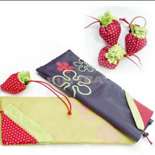 1Pcs Hot Selling Foldable Strawberry Shopping Bag Several Colors Cute Cartoon Storage Bag Wholesale
