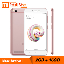 "Chinese ROM Xiaomi Redmi 5A 2GB 16GB 5.0"" Snapdragon 425 Quad Core CPU Mobile Phone 3000mAh Battery 13.0 MP Camera Smartphone(China)"