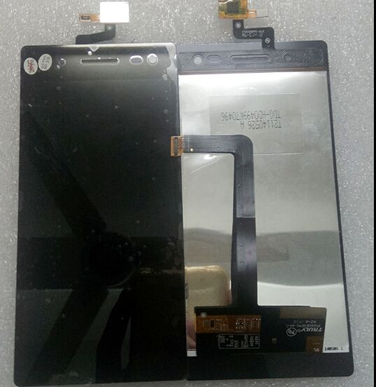 Black 5 For Primux Tech Sigma LCD Display With Touch Screen Digitizer Assembly<br>