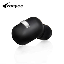 Zonyee M02 Bluetooth Headset Mini Portable Wireless Bluetooth earphone Magnetic Suction Charge Invisible Earbuds Headphones(China)