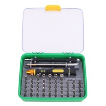 51 in 1 Steel Multi Precision Screwdrivers Set Hand Opening Repair Tool Kit Box for Cell Phones Laptop Hard Drives FULI