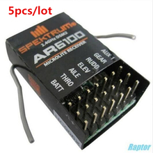 Best price 5pcs/lot 2.4GHz 6 channel AR6100 RC mirolite receiver support DSM2 Transmitter from SPEKTRUM,JR.