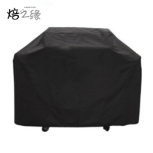 3 Sizes Black Waterproof Bbq Cover Outdoor Rain Barbecue Grill Protector For Gas Charcoal Electric Barbeque Grill