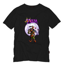 Action Game The Legend of Zelda Majora's Mask Man T Shirt O-Neck Short Sleeve Fashion Cotton T Shirt Tees Euro Size S-5XL(China)
