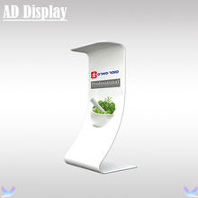 Exhibition Booth Advertising Portable Tension Fabric Snake Tube Display Banner Stand With Full Color Printing(China)