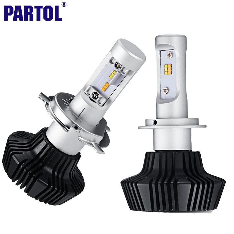 7HL Partol H4 H7 H11 H8 9005 9006 H13 Car LED Headlight Bulbs 50W All In One LED Headlamps Fog Lamp w Driver 3000K 6500K 12V 24V<br><br>Aliexpress