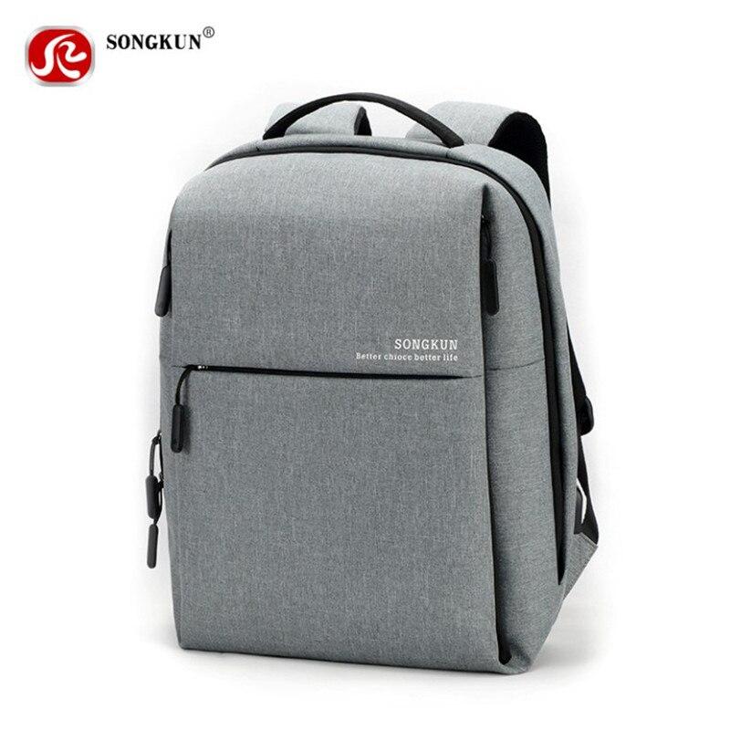 songkun Capacity Fashion Men Backpack Waterproof Oxford bag Travel Backpack Multifunctional Bags Male 15.6 inch Laptop Backpacks<br>