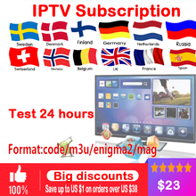 Buy IPTV subscription Android TV Box + European Sweden Arabic French Belgium Italy Germany UK IPTV Code France Belgian Arabic for $26.00 in AliExpress store