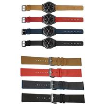 cheap Brand Watch 2017 Leather Buckle Wrist Watch Band Strap Horses Belt for Samsung S3 Watch Las marcas de lujo(China)