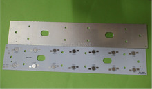 Free shipping 257mm x 47mm Aluminium PCB Circuit Board for 14PCS x 1W,3W,5W LED In Series(China)