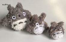 Super HOT , FULL 3Sizes Gift Plush TOY - 8CM , 10CM and 14CM Stuffed TOTORO TOY Doll , Key chain Plush Gift TOY DOLL