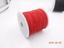 Beads Lovely Terylene Cord Chinese Knot Red 1mm Dia,1 Roll(90M/Roll)(China)