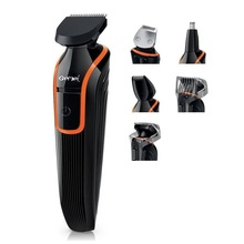 6in1 facial styling electric shaver beard stubble trimmer for men shaving machine trimer for face,nose,ear,head,body,underarm(China)