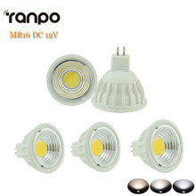 5pcs/lots LED COB Spotlight Dimmable 15W MR16 DC 12V Bulb Lamp Lighting Warm Cool Natural White High Power(China)